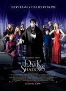 Dark Shadows - British Movie Poster (xs thumbnail)