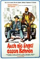 Anche Gli Angeli Mangiano Fagioli - German Movie Poster (xs thumbnail)