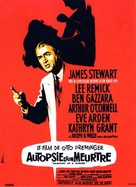 Anatomy of a Murder - French Movie Poster (xs thumbnail)
