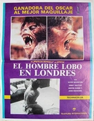 An American Werewolf in London - Mexican Movie Poster (xs thumbnail)