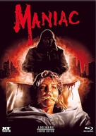 Maniac - Austrian Blu-Ray movie cover (xs thumbnail)