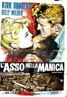Ace in the Hole - Italian Movie Poster (xs thumbnail)