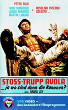 Rosolino Paternò, soldato... - German VHS cover (xs thumbnail)