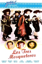 The Three Musketeers - Argentinian Movie Cover (xs thumbnail)