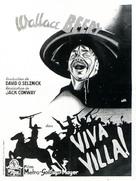 Viva Villa! - French Movie Poster (xs thumbnail)