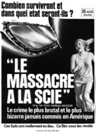 The Texas Chain Saw Massacre - Canadian Movie Poster (xs thumbnail)