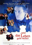 And the Band Played On - German Movie Poster (xs thumbnail)