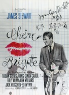 Dear Brigitte - French Movie Poster (xs thumbnail)