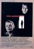 Another Woman - German Movie Poster (xs thumbnail)