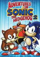 """""""Adventures of Sonic the Hedgehog"""" - DVD movie cover (xs thumbnail)"""