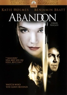 Abandon - Canadian DVD movie cover (xs thumbnail)