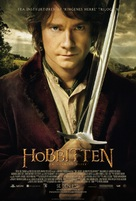 The Hobbit: An Unexpected Journey - Danish Movie Poster (xs thumbnail)