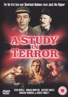 A Study in Terror - British DVD movie cover (xs thumbnail)