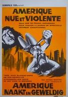 America così nuda, così violenta - Belgian Movie Poster (xs thumbnail)