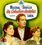 Un caballero andaluz - Spanish Movie Poster (xs thumbnail)