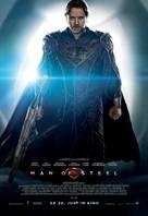 Man of Steel - German Movie Poster (xs thumbnail)