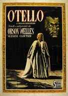 The Tragedy of Othello: The Moor of Venice - Italian Movie Poster (xs thumbnail)