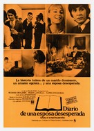 Diary of a Mad Housewife - Spanish Movie Poster (xs thumbnail)