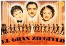 The Great Ziegfeld - Spanish Movie Poster (xs thumbnail)