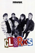Clerks. - DVD movie cover (xs thumbnail)