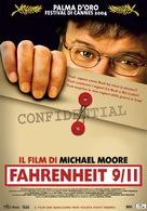Fahrenheit 9/11 - Italian Movie Poster (xs thumbnail)