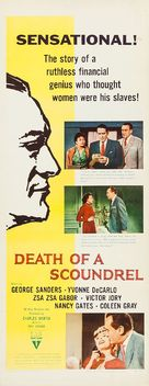 Death of a Scoundrel - Movie Poster (xs thumbnail)