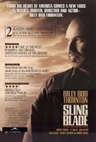 Sling Blade - Canadian Movie Poster (xs thumbnail)