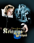 Queen Christina - Hungarian Blu-Ray cover (xs thumbnail)