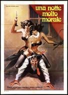 Egy erkölcsös éjszaka - Italian Movie Poster (xs thumbnail)