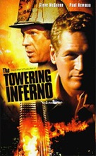 The Towering Inferno - VHS movie cover (xs thumbnail)