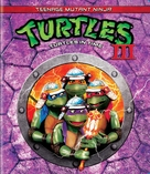 Teenage Mutant Ninja Turtles III - Blu-Ray cover (xs thumbnail)