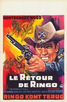 Il ritorno di Ringo - Belgian Movie Poster (xs thumbnail)