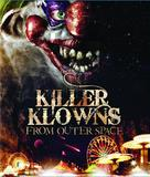 Killer Klowns from Outer Space - Blu-Ray cover (xs thumbnail)