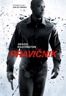 The Equalizer - Slovenian Movie Poster (xs thumbnail)