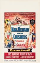 King Richard and the Crusaders - Movie Poster (xs thumbnail)