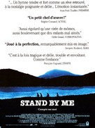 Stand by Me - French Movie Poster (xs thumbnail)