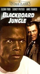 Blackboard Jungle - VHS movie cover (xs thumbnail)