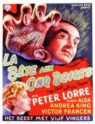 The Beast with Five Fingers - Belgian Movie Poster (xs thumbnail)