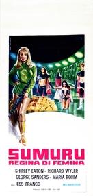 Die sieben Männer der Sumuru - Italian Movie Poster (xs thumbnail)