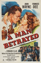 A Man Betrayed - Re-release poster (xs thumbnail)