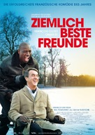 Intouchables - German Movie Poster (xs thumbnail)