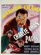 Charlie Chan in Paris - Belgian Movie Poster (xs thumbnail)