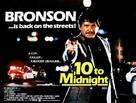 10 to Midnight - British Movie Poster (xs thumbnail)