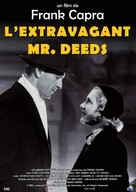 Mr. Deeds Goes to Town - French Re-release movie poster (xs thumbnail)