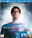 Man of Steel - Danish Blu-Ray cover (xs thumbnail)