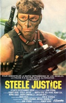 Steele Justice - French VHS movie cover (xs thumbnail)