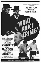 What Price Crime - poster (xs thumbnail)