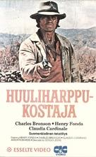C'era una volta il West - Finnish VHS movie cover (xs thumbnail)