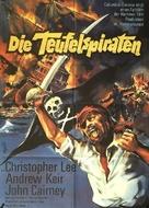 The Devil-Ship Pirates - German Movie Poster (xs thumbnail)