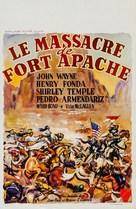 Fort Apache - Belgian Movie Poster (xs thumbnail)